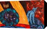 Danae, Paintings, Expressionism,Fine Art,Impressionism,Symbolism, Erotic,Fantasy,Historical,Narrative, Acrylic,Mixed,Wood, By Kate Mikhatova