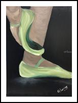 Dance, Paintings, Fine Art,Impressionism, Dance, Oil, By Geraldine Junior
