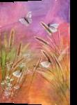 Dance of butterflies, Paintings, Fine Art, Animals,Botanical,Nature, Acrylic, By Marta Kuźniar