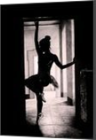 Dancer silhouette #1, Paintings, Fine Art,Modernism,Photorealism,Realism, Anatomy,Children,Figurative,People, Oil, By Ivan Pili