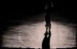 Dancer silhouette #2, Paintings, Fine Art,Modernism,Photorealism,Realism, Children,Dance,Figurative,Music,People, Oil, By Ivan Pili