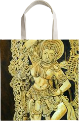 Dancing Girl Yakshini, Paintings, Photorealism, Figurative, Canvas, By Ajay Harit
