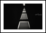 Dark path, Architecture,Decorative Arts, Abstract,Fine Art, Architecture, Photography: Metal Print,Photography: Photographic Print,Photography: Premium Print,Photography: Stretched Canvas Print, By Benjamin Dupont