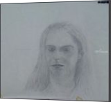 Daughter, Drawings / Sketch, Fine Art, Portrait, Charcoal,Painting, By Mike Chaple