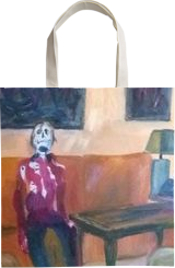 Death In Lonelyness, Paintings, Expressionism, Art Brut,Composition, Oil,Painting, By Berthold von Kamptz