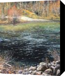 Deep Water, Paintings, Impressionism, Botanical,Landscape, Canvas,Oil, By Mason Mansung Kang