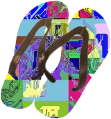 Digital Kakemono, Digital Art / Computer Art, Abstract, Decorative, Acrylic,Photography: Metal Print,Photography: Premium Print, By Vitali (VITALIV) Vin