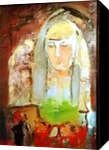 Donna, Paintings, Expressionism, 3-D,Spiritual, Acrylic,Oil, By Miroslaw Jerzy Kin