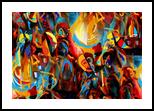 discotheque, Digital Art / Computer Art, Expressionism,Modernism,Surrealism, Happenings, Digital, By Nebojsa Strbac
