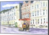 Douglas Promenade, Paintings, Realism, Seascape, Watercolor, By Michelle Katrina Archer