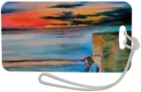 Down on the Beach, Illustration,Paintings, Existentialism,Expressionism,Romanticism, Daily Life,Documentary, Oil,Painting, By Berthold von Kamptz