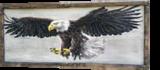 Eagle in Flight, Original Painting, Flying Bird, Animal Nature, Original Art, Paintings, Fine Art,Realism, Animals,Nature, Gouache,Pencil, By Temenuzhka Pavlova