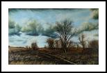 Early spring, Paintings, Realism,Romanticism, Landscape, Canvas,Oil, By Nataliya KyrkachAntonenko