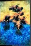 Elephants, Digital Art / Computer Art,Paintings, Impressionism, People, Acrylic,Digital, By ROY DOUGLAS