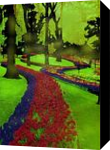 Enchanted nature, Digital Art / Computer Art, Symbolism, Fantasy, Digital, By Bernard Harold Curgenven