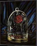 Enchanted Rose, Paintings, Fine Art, Conceptual, Acrylic, By adam santana
