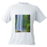 Enchanted waterfal, Digital Art / Computer Art, Symbolism, Environmental art, Digital, By Bernard Harold Curgenven