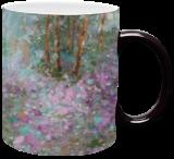 ENCHANTED WOODS, original landscape painting, Paintings, Impressionism, Fantasy,Land Art,Landscape,Moving Images,Nature, Acrylic, By Emilia Milcheva
