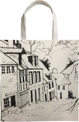 European Street, Drawings / Sketch, Realism, Landscape, Ink, By Stephen Keller