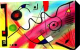 Eveil, Paintings, Abstract,Cubism, Avant-Garde, Acrylic, By Sévi Cabell Maghee