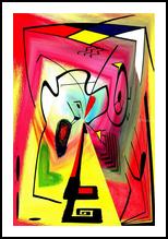 Eveil II, Digital Art / Computer Art,Paintings, Abstract, Avant-Garde, Acrylic,Digital, By Sévi Cabell Maghee