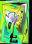Eveil V, Digital Art / Computer Art,Paintings, Abstract, Avant-Garde, Acrylic,Digital, By Sévi Cabell Maghee