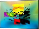 Evening II, Digital Art / Computer Art,Graphic,Paintings, Abstract, Avant-Garde,Composition, Acrylic,Digital, By Sévi Cabell Maghee