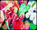 EXOTIX, Paintings, Expressionism, Floral, Mixed, By Zenon Wladyslaw Rozycki