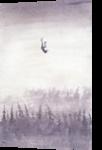 falling, Paintings, Fine Art, Fantasy, Watercolor, By Eugene Gorbachenko