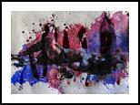 Feeling: Broken, Paintings, Expressionism,Fine Art,Modernism,Realism, Erotic,Figurative,Nudes,People, Acrylic, By Kateryna Bortsova