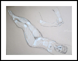 Female Nude, Drawings / Sketch, Fine Art, Nudes, Charcoal, By Marc Clamage