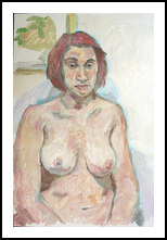Female Nude, Paintings, Fine Art,Realism, Erotic,Nudes,People,Portrait, Oil, By Marc Clamage