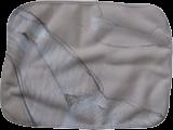 Small Fleece Baby Burp Blanket
