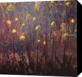 Field of Dreams, Paintings, Abstract, Landscape, Acrylic, By Kenneth E Parker