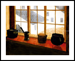 First Snow, Paintings, Realism, Still Life, Painting, By William Clark