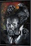 Floki, Paintings, Surrealism, People, Oil,Painting, By Veronika Dika