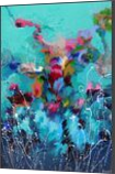 Floral composition, Paintings, Abstract,Fine Art, Botanical,Fantasy,Floral,Nature, Acrylic,Canvas, By Irini Karpikioti