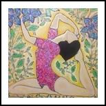 Flourishing, Decorative Arts, Primitive, Anatomy, Acrylic, By Paula Valeria Fridman