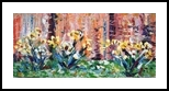 flovers yellov2, Paintings, Abstract, Botanical, Oil, By antonino puliafico
