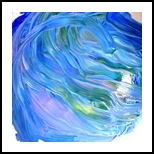 Flow, Paintings, Expressionism, Seascape, Painting, By fred wilson