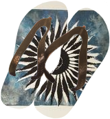 flower, Decorative Arts,Illustration,Printmaking, Existentialism,Fauvism,Hallucinogens,Modernism,Surrealism,Symbolism, Celestial / Space,Conceptual,Figurative,Floral,Nature,Spiritual,The Unconscious, Ink,Mixed, By Gabriele Gerini