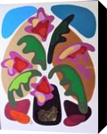 FLOWERS, Paintings, Modernism, Floral, Mixed, By Zenon Wladyslaw Rozycki