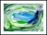 Foam 2, Paintings, Expressionism, Seascape, Painting, By fred wilson