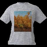 Forest in Autumn, Paintings, Fine Art,Impressionism,Realism, Landscape,Nature, Canvas,Oil, By Dejan Trajkovic