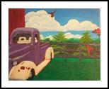 Forgotten Interest, Paintings, Fine Art, Landscape, Acrylic,Canvas, By Loretta Hon