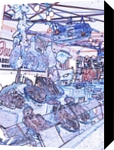 French Butcher, Digital Art / Computer Art, Abstract, Daily Life, Digital, By Michael J Duke