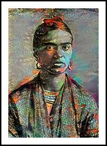 Frida Kahlo, Digital Art / Computer Art, Realism, People,Portrait, Digital, By Monica Amorim Gutmann