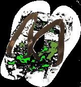 Frog inked, Digital Art / Computer Art, Abstract, Animals, Digital, By Joshua Bindseil