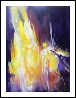 Galaxy, Paintings, Abstract,Expressionism, Avant-Garde, Acrylic,Canvas, By Joseph Culotta