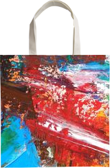 GARDEN # 3, Paintings, Abstract, Botanical, Canvas, By William Birdwell